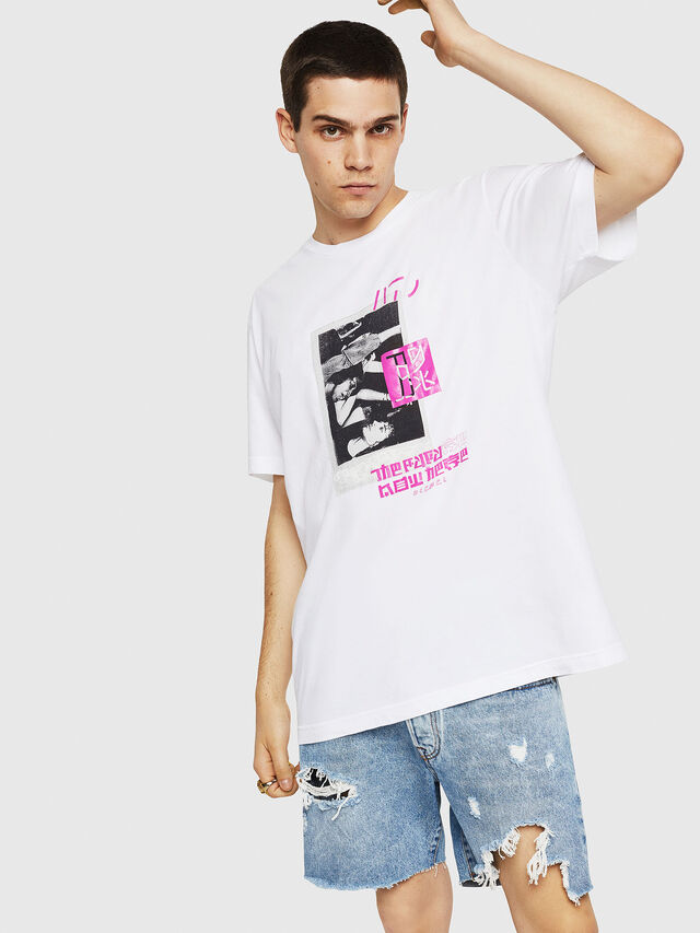 Diesel - T-JUST-Y21, White - T-Shirts - Image 1