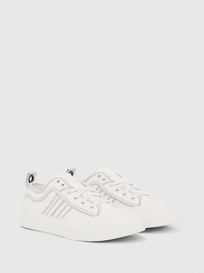 Diesel - S-ASTICO LOW LACE W, White - Sneakers - Image 2