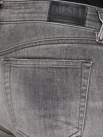 Diesel - Slandy Low 009FD, Light Grey - Jeans - Image 4