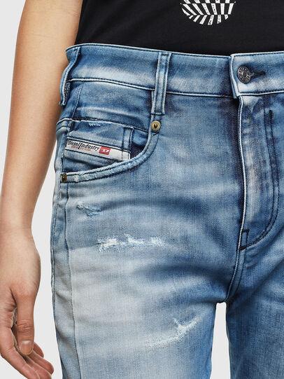 Diesel - Fayza JoggJeans 0099Q, Medium blue - Jeans - Image 3