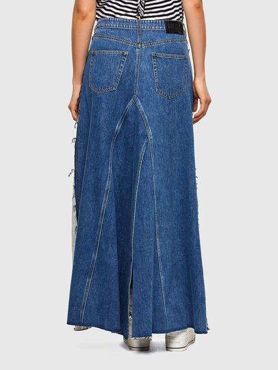 Diesel - O-LE, Grey/Blue - Skirts - Image 2