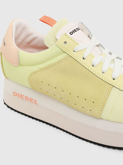 Diesel - S-PYAVE WEDGE, Yellow - Sneakers - Image 4