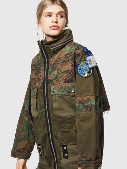 Diesel - G-LEE-C, Military Green - Jackets - Image 1