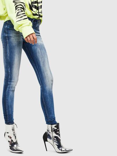 Diesel - Slandy 0095C, Medium blue - Jeans - Image 4