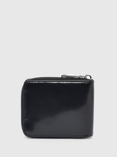 Diesel - HIRESH XS ZIPPI, Black - Zip-Round Wallets - Image 2