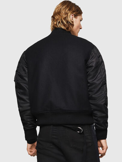 Diesel - W-BOM, Black - Jackets - Image 2