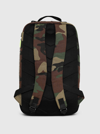 Diesel - PIEVE, Green Camouflage - Backpacks - Image 2