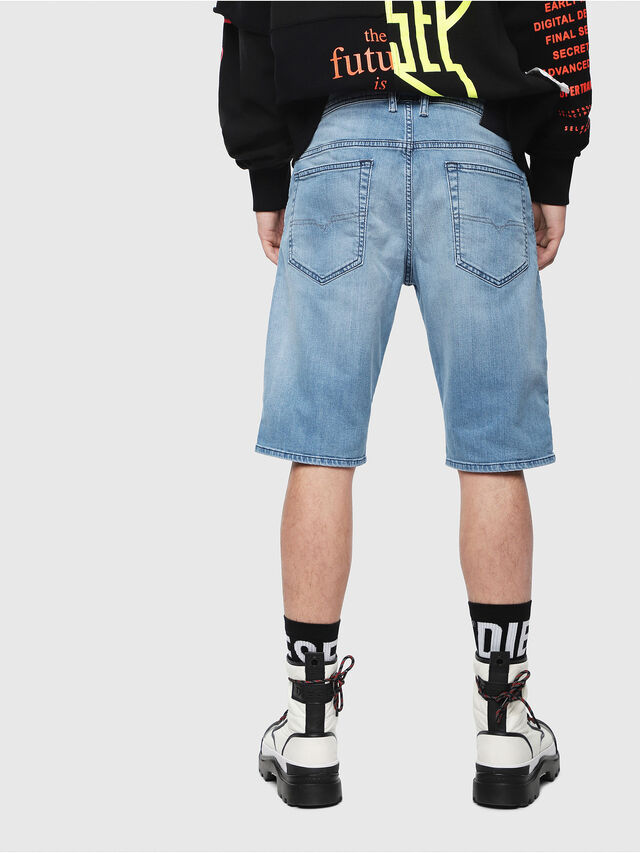 Diesel THOSHORT, Light Blue - Shorts - Image 2