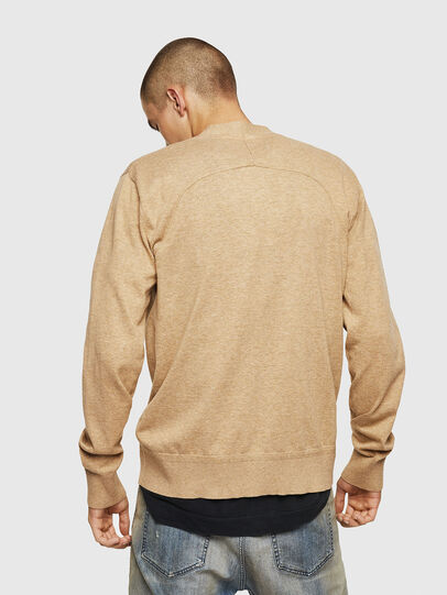 Diesel - K-MILOK, Light Brown - Knitwear - Image 2