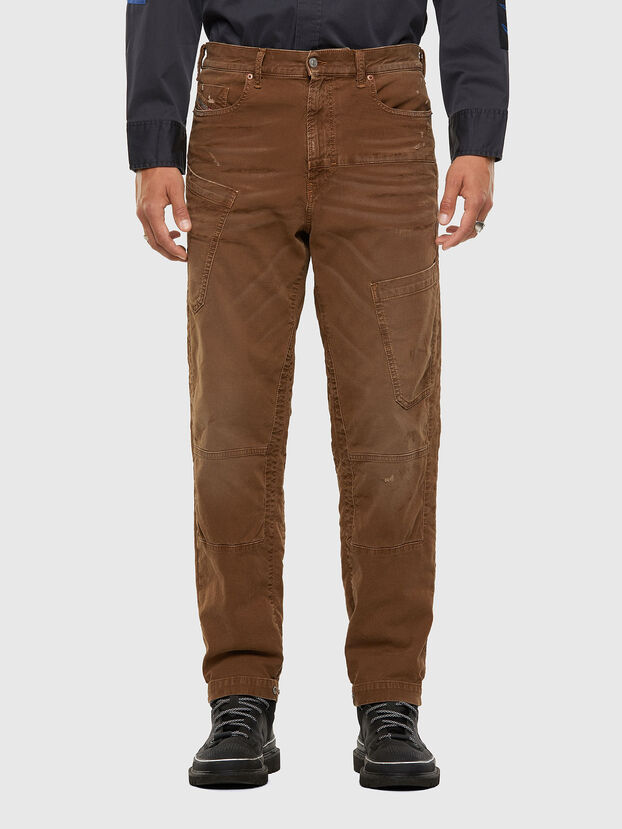 D-Azzer JoggJeans 069NF, Light Brown - Jeans