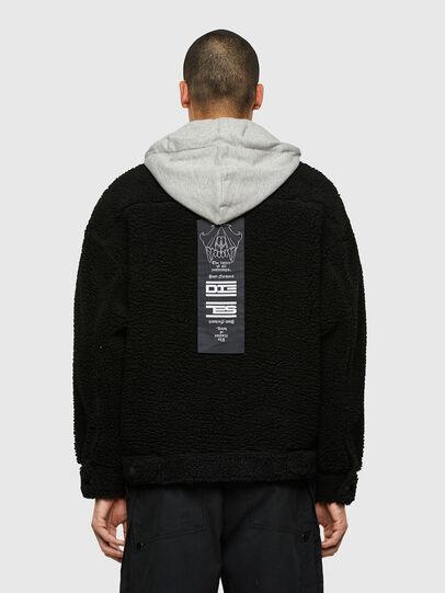 Diesel - W-GARY, Black - Winter Jackets - Image 2