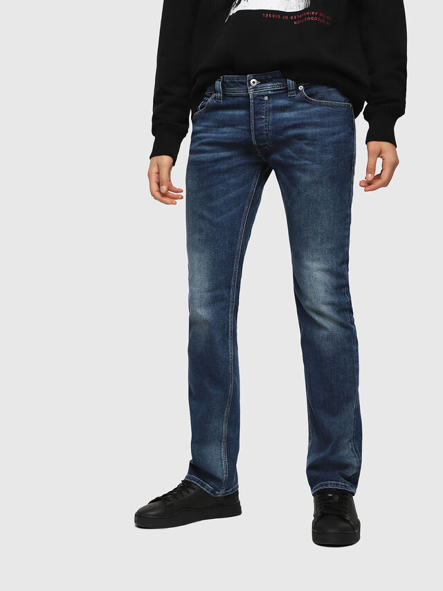 Diesel - Safado C84HV, Medium blue - Jeans - Image 1