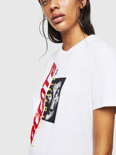 Diesel - LCP-T-DIEGO-BOGOTA, White - T-Shirts - Image 5