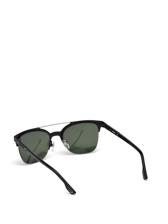 Diesel DL0215, Black - Eyewear - Image 2