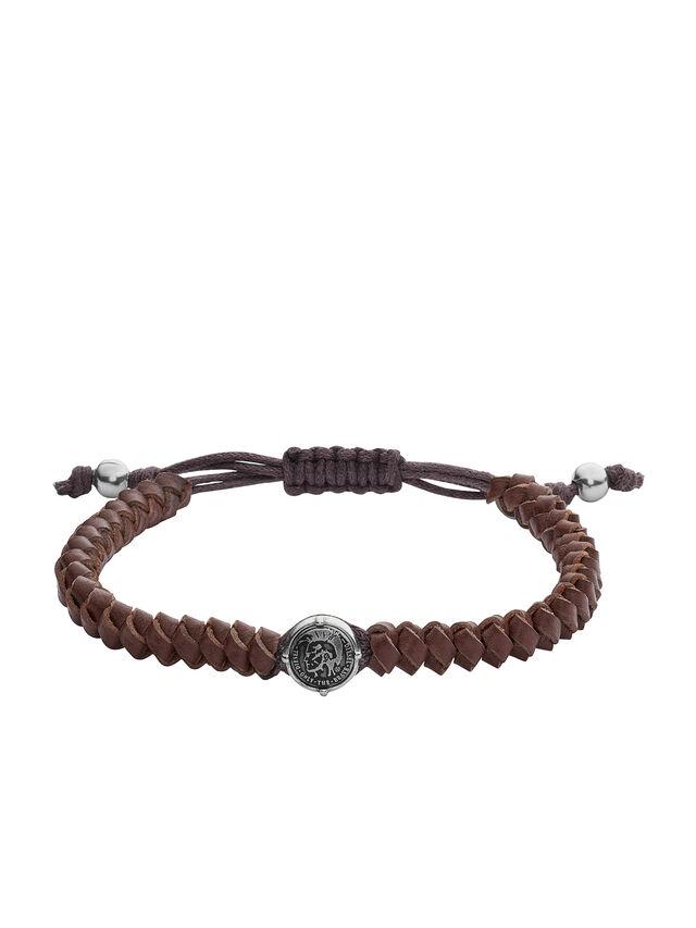 Diesel - BRACELET DX1044, Brown - Bracelets - Image 1