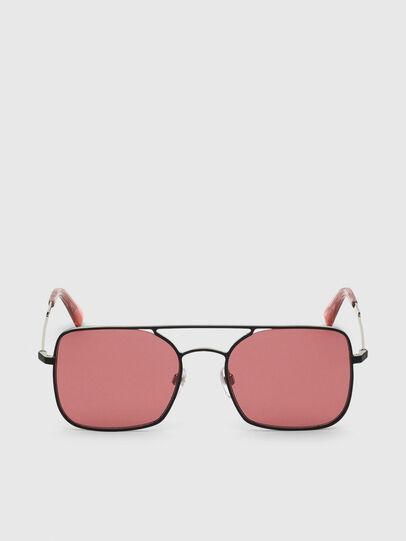 Diesel - DL0302, Pink/Black - Sunglasses - Image 1