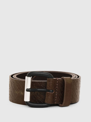 B-STRIP, Marron Military - Belts