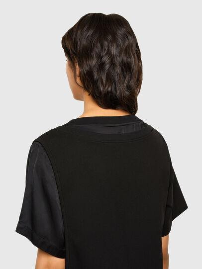Diesel - D-OUBLE, Black - Dresses - Image 5