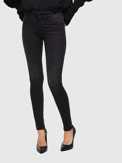Diesel - Slandy 069GG, Black/Dark grey - Jeans - Image 1