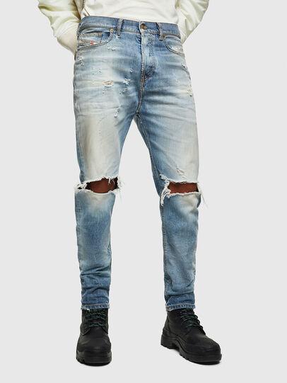 Diesel - D-Vider 0097J, Light Blue - Jeans - Image 1