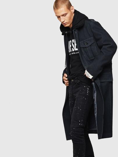 Diesel - W-TIMOTEV, Black - Winter Jackets - Image 4