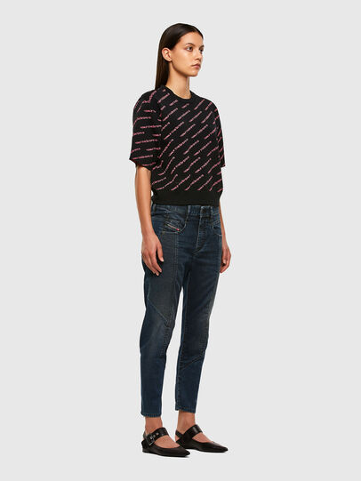 Diesel - FAYZA JoggJeans® 069PQ, Dark Blue - Jeans - Image 7