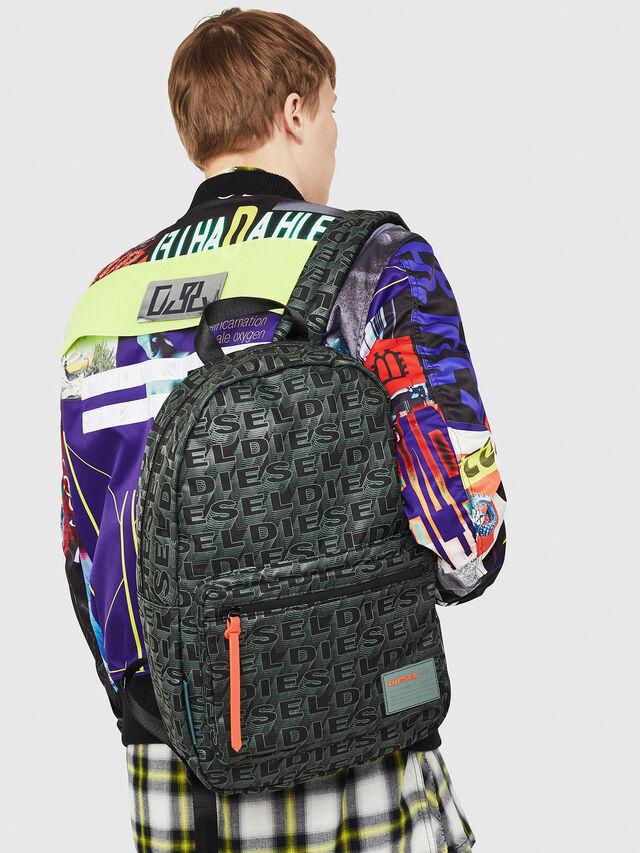 Diesel - F-DISCOVER BACK, Black/Grey - Backpacks - Image 5