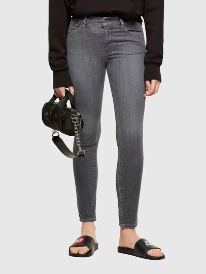 Diesel - D-Roisin 069SD, Black/Dark grey - Jeans - Image 1