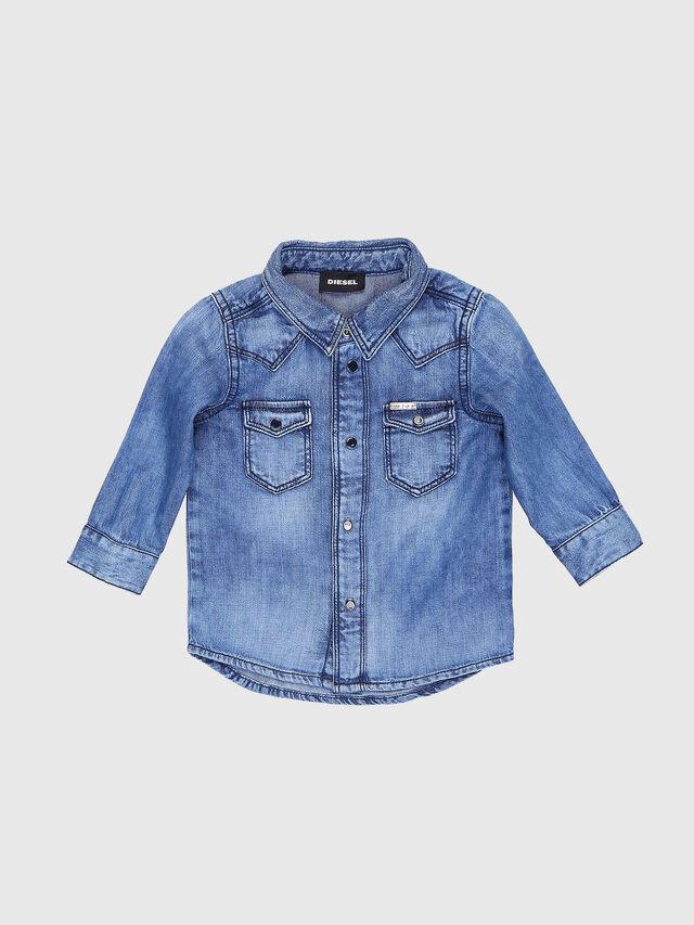c9919e40 CITROB Baby Boys: Denim shirt with two chest pockets | Diesel