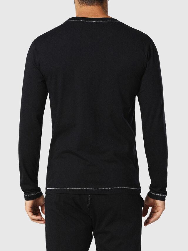 Diesel UMLT-JUSTIN, Black - T-Shirts - Image 2