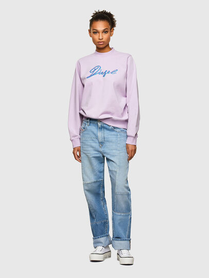 Diesel - F-ANG-K15, Lilac - Sweaters - Image 4