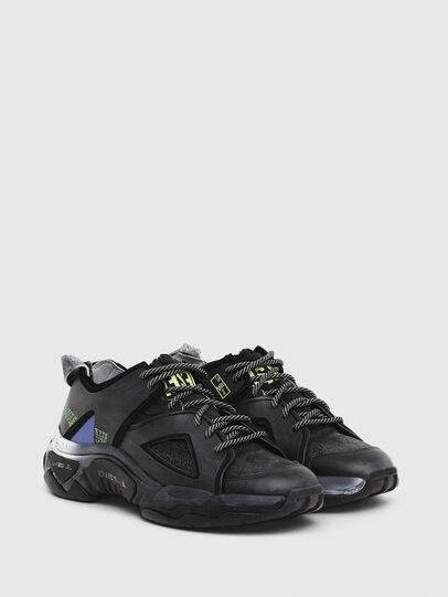Diesel - S-KIPPER SP, Black - Sneakers - Image 2