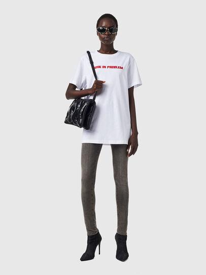 Diesel - T-DARIA-B2, White - T-Shirts - Image 4