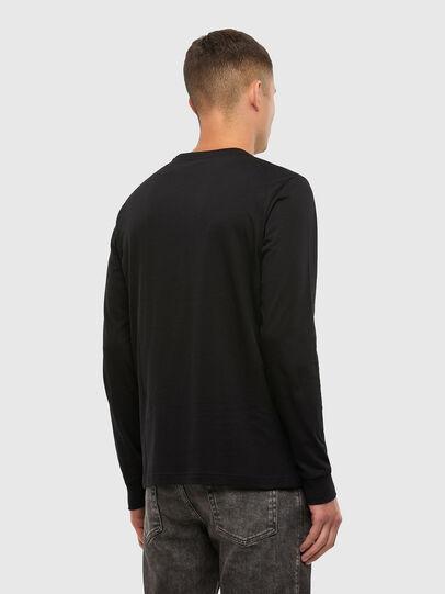 Diesel - T-DIEGOS-LS-X5, Black - T-Shirts - Image 2