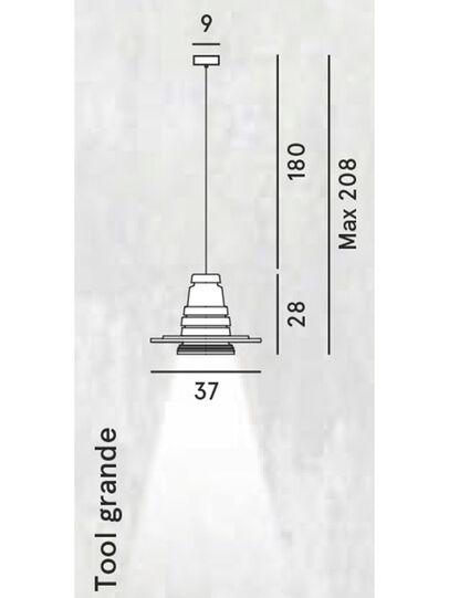 Diesel - TOOL GRANDE SOSP,  - Hang Lighting - Image 2