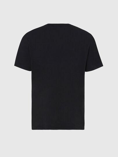 Diesel - T-JUBIND-SLITS, Black - T-Shirts - Image 2