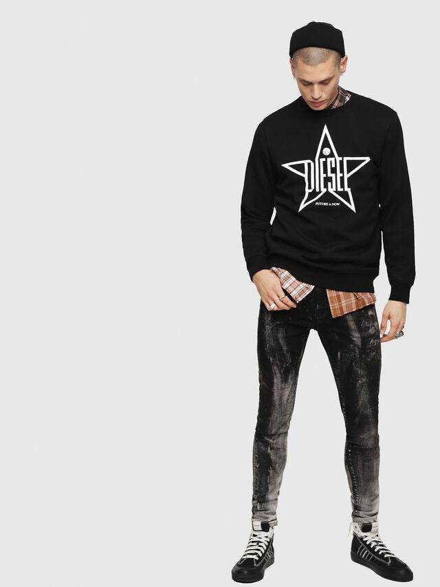 Diesel - S-GIR-YA, Black - Sweaters - Image 4