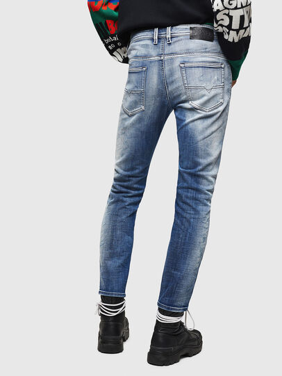 Diesel - Thommer JoggJeans 0870N, Medium blue - Jeans - Image 2