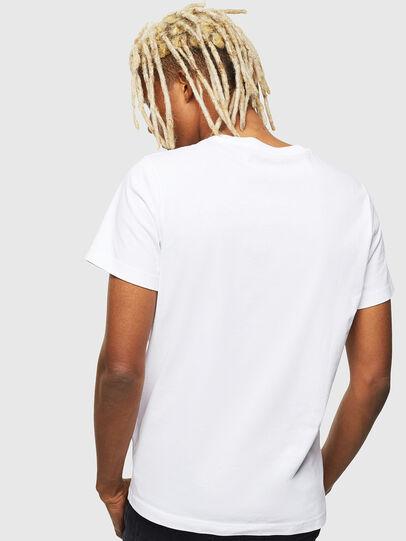 Diesel - T-DIEGO-001978, White - T-Shirts - Image 3