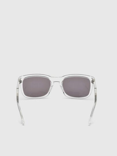 Diesel - DL0262, White - Sunglasses - Image 4