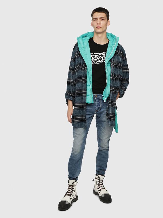Diesel - Larkee-Beex 089AW, Medium blue - Jeans - Image 4