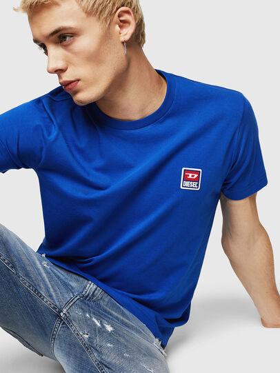 Diesel - T-DIEGO-DIV, Brilliant Blue - T-Shirts - Image 3
