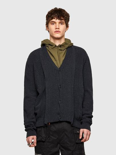 Diesel - K-MATRIX, Black - Knitwear - Image 1
