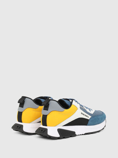 Diesel - S-TYCHE LOW CUT, Yellow/Blue - Sneakers - Image 3