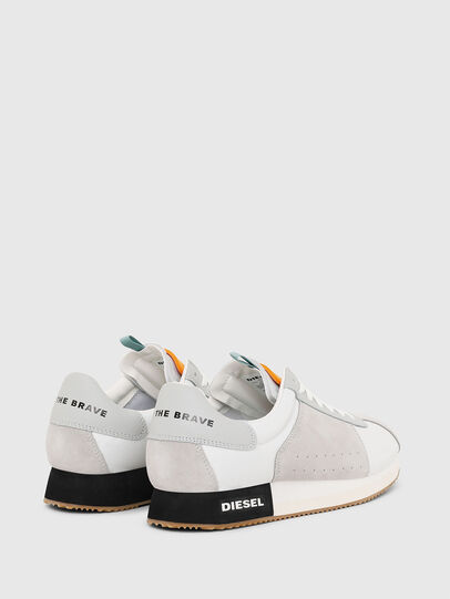 Diesel - S-PYAVE LC, White/Grey - Sneakers - Image 3
