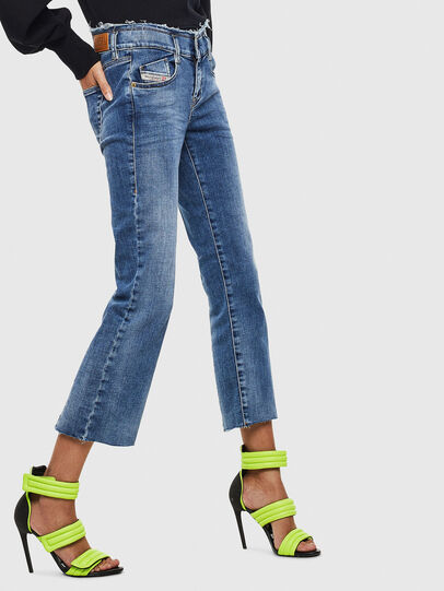 Diesel - D-Ebbey 009AA, Medium blue - Jeans - Image 4