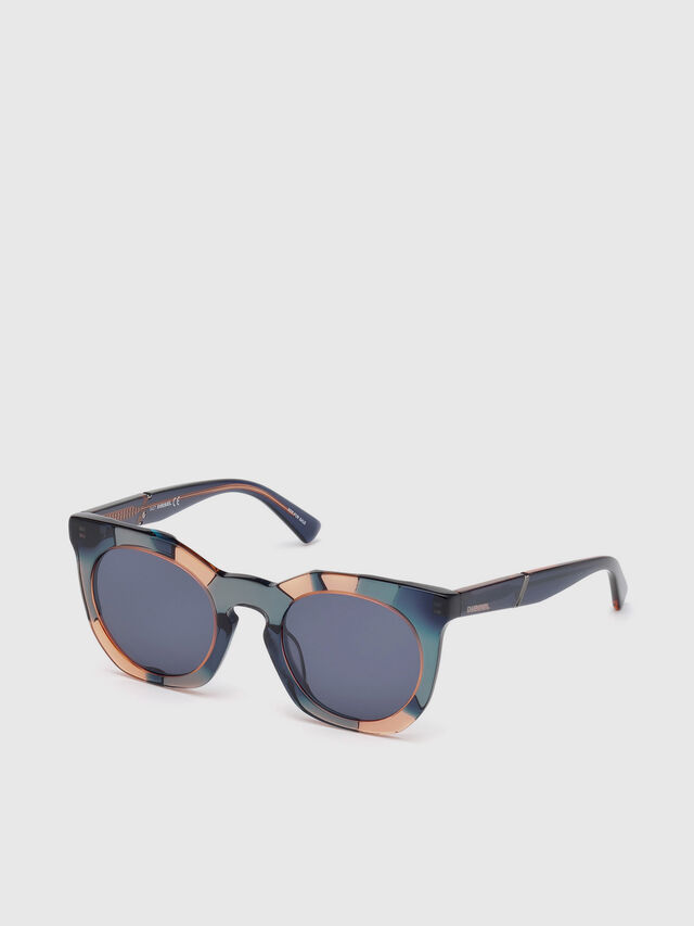 Diesel - DL0270, Green - Sunglasses - Image 2