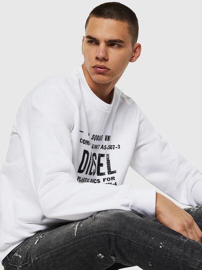 Diesel - S-GIR-B5, White - Sweaters - Image 4