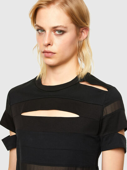 Diesel - T-SLICE, Black - Tops - Image 3