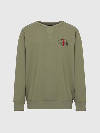 Diesel - UMLT-WILLY, Olive Green - Sweaters - Image 1